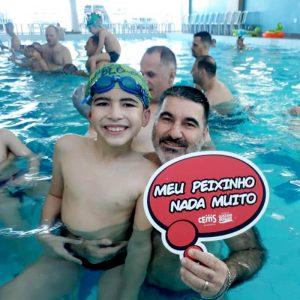 imagem evento natacao infantil maringa